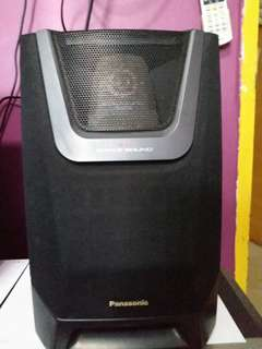 Panasonic Hi-Fi System Only Speakers 100W+100W