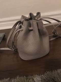 Free people grey bucket bag