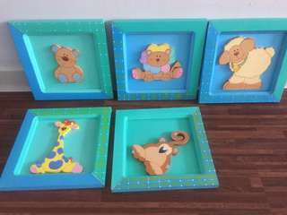 Decor for Baby/ Kids room
