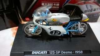 🚚 杜卡廸摩托車模型(DUCATI 125 GP Desmo-1958  7-11)