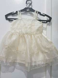 Baptismal Gown/Dress with Hat