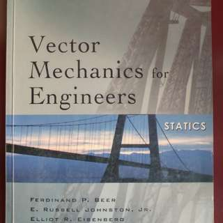 Vector Mechanics for Engineers by Beer, Johnston, Eisenberg