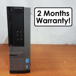 [8GB RAM i5 Gen4 CPU] Dell Optiplex 3020 SFF: Quad Core! USB 3.0! 4TH GEN! (Desktop)