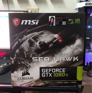 MSI SeaHawk 1080ti 11GB watercool