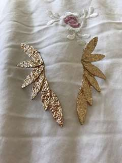 leaf fashion earring