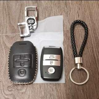 KIA K3 EX & SX remote leather pouch
