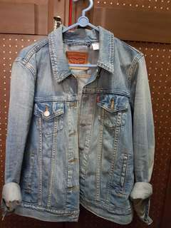 Denim trucker jacket boyfriend (levi's)