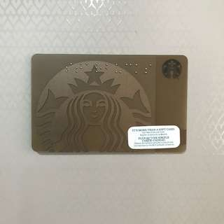 Starbucks Braille Card