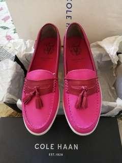 Cole Haan Pinch Weekender Tassel Fuschia/Beet Shoes