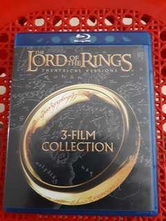 Bluray Movies Lord of the Rings