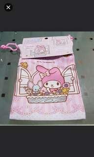 Sanrio My Melody Mini Drawstring Bag/Pouch/Organiser