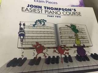 John Thompson Piano Book