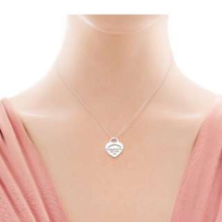 Tiffany Heart Tag Pendant