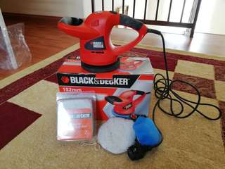 black and decker waxer/polisher