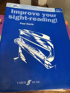 Improve yourSight Reading- Paul Harris ( Grade 1 and 2)