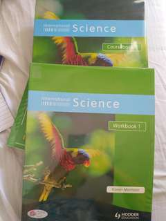 Hodder International Science Coursebook 1 and Workbook 1