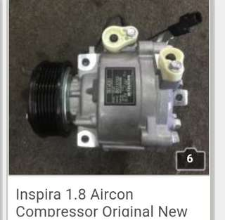Inspira 1.8 Aircon Compressor Original New
