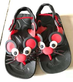 Baby rat slippers