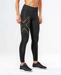 2XU Women's Mcs Mid-Rise Compression Tights,