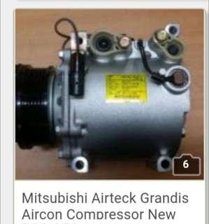 Mitsubishi Airteck Grandis Aircon Compressor New