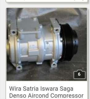 Wira Satria Iswara Saga Denso Aircond Compressor