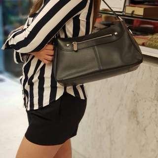 Lv Black Epi Leather Turene Pm Bag