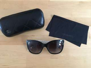 Genuine Chanel sunglasses with box
