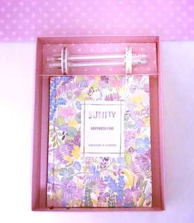 Enchanting Notebook / Journal Gift Set