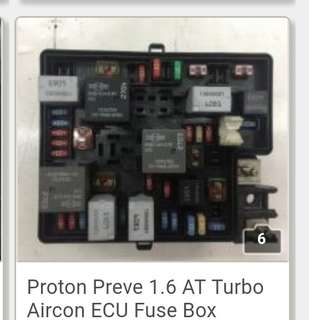 Proton Preve 1.6 AT Turbo Aircon ECU Fuse Box Read more at