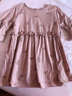 Floral babydoll top/dress