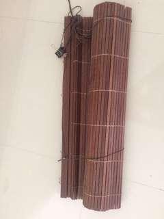 tirai bambu kualitas premium