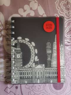 London United Kingdom England Note book Note pad