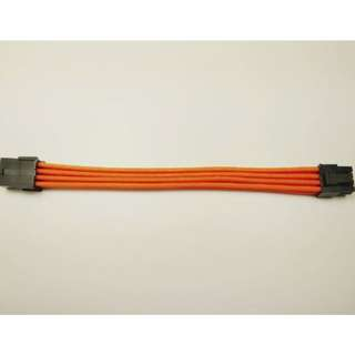 PCI-E 8PIN Female to Male 6+2Pin PSU Extension Power Cord