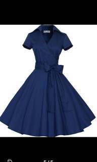 [INSTOCK] Audrey Hepburn retro dress