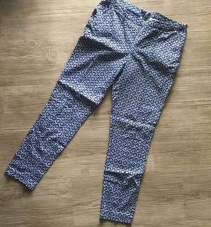 H&M Printed Pants