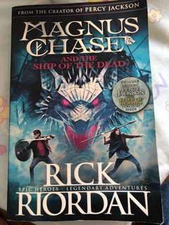 Magnus Chase - ship of the dead by Rick Riordan