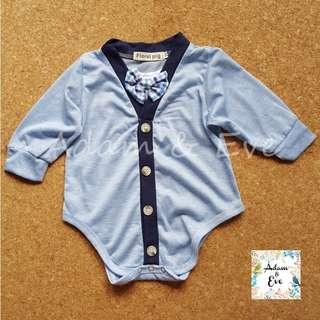 Baby Romper F8 - Smart Blue Romper $14.90