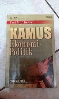 Kamus Ekonomi Politik