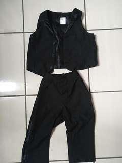 H&M Infant Tuxedo Set