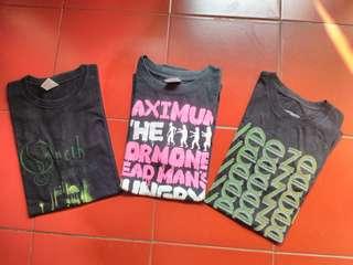 Tshirt Band Ophet , Maximum the hormone , free Weezer
