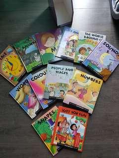 Children encyclopedia 12 pcs books