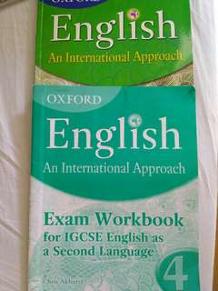Oxford English An International Approach 4 and Exam Workbook 4