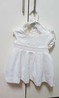 Periwinkle Baptism Dress