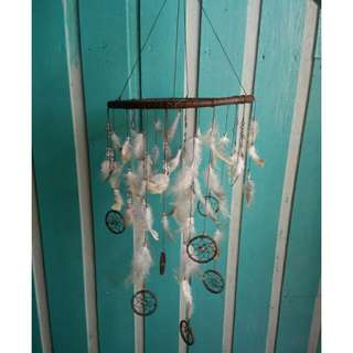 """Dream catcher chandelier 10"""""""