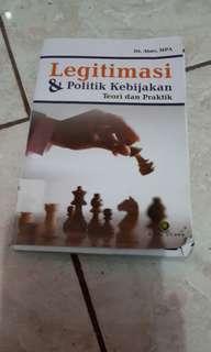 Buku Legitimasi & politik kebijakan