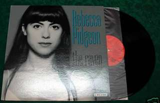 Mint 1994 Pressed Rebecca Pidgeon The Raven Vinyl LP