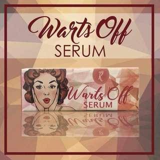 Warts off serum