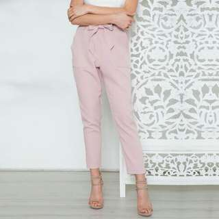 Chiffon High Waste Pants