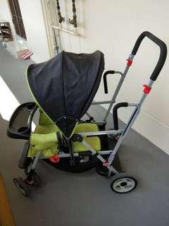 Joovy Caboose Graphite double stroller