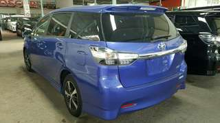 Toyota Wish 2015 recon full spec